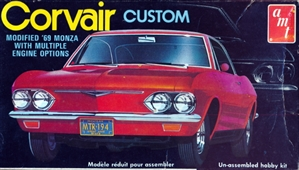 1969 Chevy Corvair Monza 2 Door Hardtop Custom (1/25) (fs) MINT