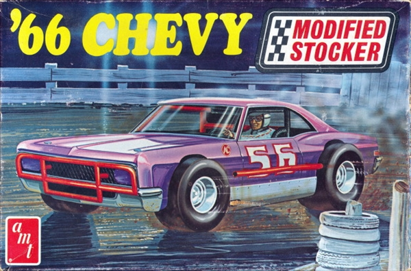 1966 Chevy Impala Modified Stocker (1/25) (si) Original Issue