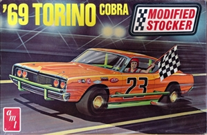 1969 Ford Torino Cobra Modified Stocker (1/25) (fs)