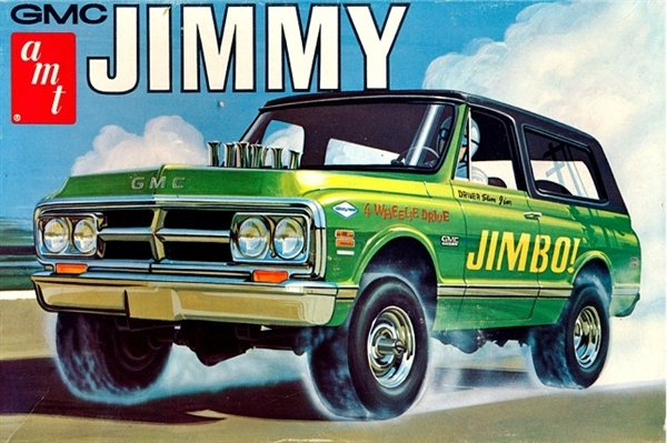 1970 Gmc Jimmy 4 X 4 Suv 1 25 Fs