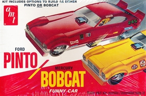 1970's Ford Pinto or Mercury Bobcat Funny Car (1/25) (fs)