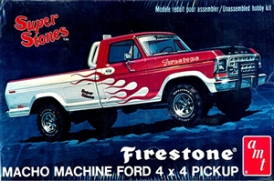 1978 Ford Macho Machine 4 x 4 Pickup 'Super Stones' Firestone (1/25)