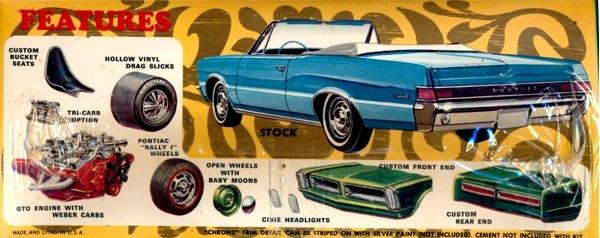 1965 Pontiac Tempest Gto Hardtop Convertible 3 N 1
