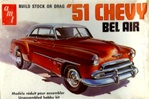 1951 Chevy Belair 'Original 1976 Issue' (2 'n 1) Stock or Drag (1/25) (si)