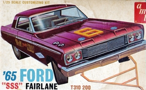 "1965 Ford Fairlane ""SSS"" (3 'n 1) Stock, Custom or Racing (1/25)"