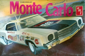 1970 Chevrolet Monte Carlo (3 'n 1) Stock, Custom or Drag (1/25) (fs) MINT