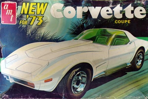 Corvette Sting Ray >> 1973 Chevy Corvette Sting Ray Coupe (3 'n 1) Stock, Custom or Drag (1/25)