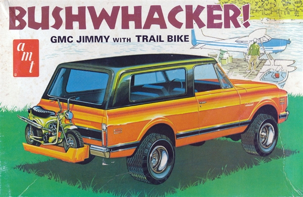 Image result for AMT GMC with bike