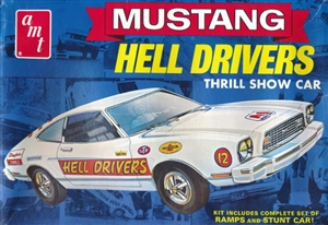"1974 Ford Mustang II ""Hell Drivers"" Thrill Show Car (1/25) (fs)"
