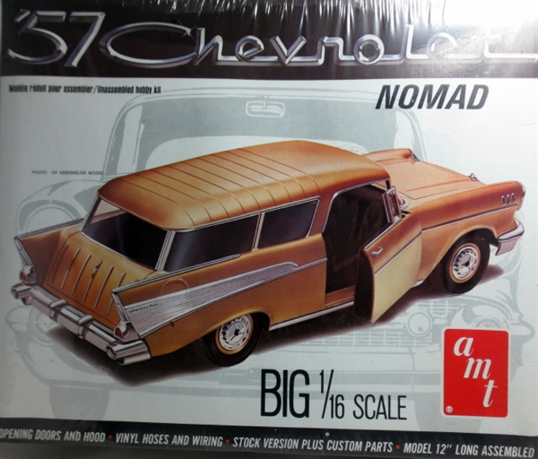 1957 Chevy Nomad (2 'n 1) Stock or Custom (1/16) (fs) on
