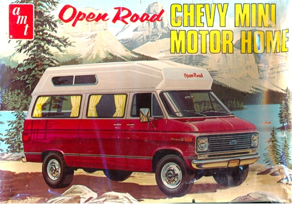 1970 Open Road Chevy Mini Motor Home 3 N 1 1 25 Fs
