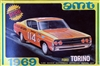 1969 Ford Torino (4 'n 1) Stock, Custom, Nascar, or Drag (1/25)