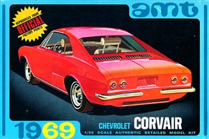 1969 Chevrolet Corvair Monza Hardtop (3 'n 1) Stock, Custom or Competition (1/25)