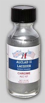 Alclad II  Chrome Lacquer for Plastic 1 oz bottle