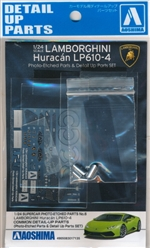 Lamborghini Huracan LP610-4 Photo Etched Parts Detail Set (1/24)