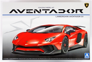 "Lamborghini Aventador LP750-4 SV (1/24) (fs) <br><span style=""color: rgb(255, 0, 0);"">Back in Stock</span>"