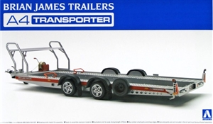"Brian James Trailers A4 Transporter (1/24)  <br><span style=""color: rgb(255, 0, 0);"">Back in Stock</span>"