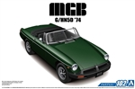 "1974 MGB Mk3 G/HN5D 2 Door Convertible Car (1/24) (fs) <br><span style=""color: rgb(255, 0, 0);"">Back in Stock</span>"