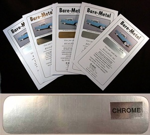 Bare-Metal Foil Chrome Silver