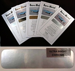 "Bare-Metal Foil Ultra Bright Chrome Silver<br><span style=""color: rgb(255, 0, 0);"">Back in Stock</span>"