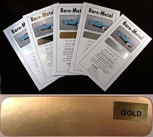 Bare-Metal Foil Gold