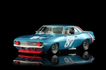 1969 Chevrolet Camaro Z28 'Fly Navy' Jerry Petersen #87 Slot Car (1/24) (fs)