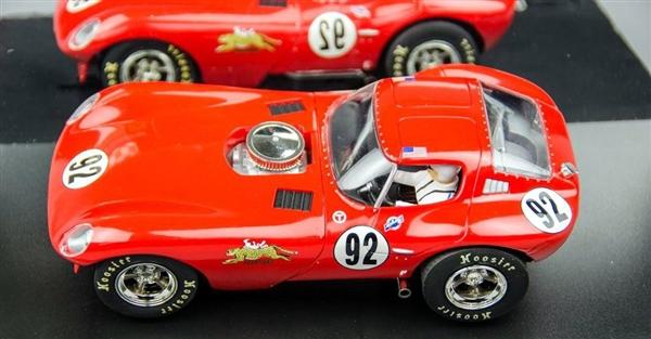 Carrera Bill Thomas Cheetah 'Vintage GT Challenge No  92' Digital Slot Car  (1/24) (fs)