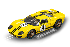 Carrera 1966 Ford GT40 MkII 'No. 8' LeMans Digital Slot Car (1/24) (fs)