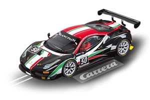 Carrera 2013 Ferrari 458 Italia GT3 'AF Corse No.50' Blancpain Endurance Series Digital Slot Car (1/24) (fs)