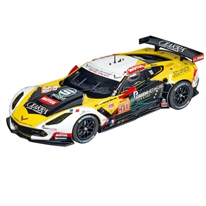Carrera Chevrolet Corvette C7.R No.50 Digital Slot Car (1/24) (fs)