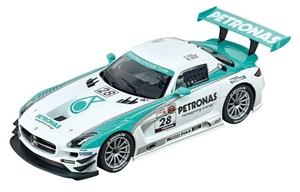 Carrera Mercedes-Benz SLS AMG GT3 'Petronas No. 28' Digital Slot Car (1/24) (fs)