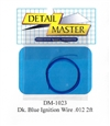 "Detail Master Dark Blue Ignition Wire (.012"") 2 ft for 1/24 & 1/25"