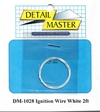 "Detail Master White Ignition Wire (.012"") 2 ft for 1/24 & 1/25"