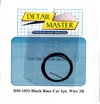 "Detail Master Black Race Car Ignition Wire (.016"") 2 ft for 1/24 & 1/25"