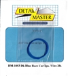 "Detail Master Dark Blue Race Car Ignition Wire (.016"") 2 ft for 1/24 & 1/25"