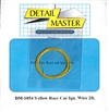 "Detail Master Yellow Race Car Ignition Wire (.016"") 2 ft for 1/24 & 1/25"