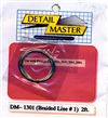 "Detail Master Braided Line #1 (.020"") 2 ft for 1/24 & 1/25"