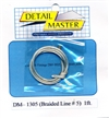 "Detail Master Braided Line #5  1 ft (.060"") for 1/24 & 1/25"