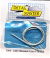 "Detail Master Braided Line #7 1 ft (.100"") for 1/24 & 1/25"