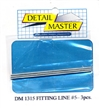 "Detail Master Fitting Line #5 (Use with DM-1305) (.060"")  3 3"" pieces for 1/24 & 1/25"
