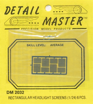 Headlight Screens for 1/24 & 1/25