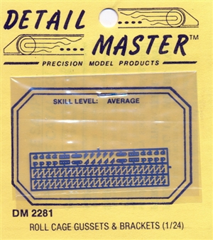 Roll Cage Gussets & Brackets for 1/24 & 1/25