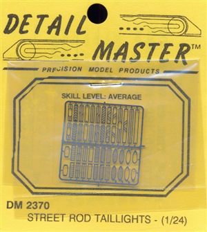 Street Rod Taillights for 1/24 & 1/25