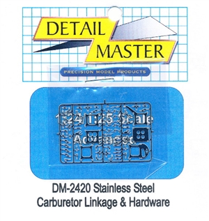 Detail Master Carburetor Linkage & Hardware for 1/24 & 1/25