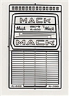 Mack R600/R700 Truck Grille Photo Etch for 1/24 & 1/25