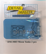 Detail Master Moon Tanks (2 pcs) 1/24 & 1/25