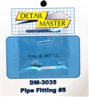 "Detail Master Pipe Fitting #5 (8 pcs) (.067 "") for 1/24 & 1/25 & 1/16"
