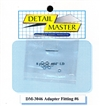 "Detail Master Adapter Fitting #6 (8 pcs) (.082 "") for 1/24 & 1/25 & 1/16"
