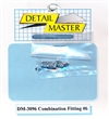 "Detail Master Combination Fitting #6 (8pcs) (.082 "") for 1/24 & 1/25"
