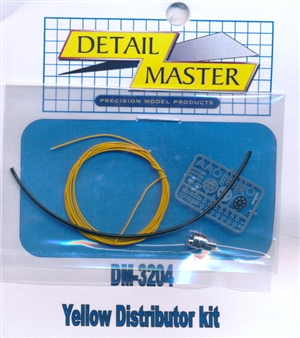 Yellow Wired Distributor Kit for 1/24 & 1/25